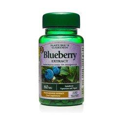 Ekstrakt z Borówki Czarnej 60 mg 100 Kapsułek
