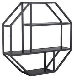 Seaford wall shelf, octagon