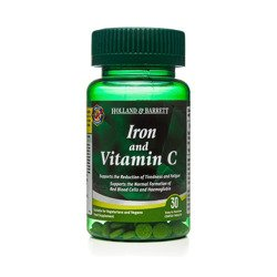 Żelazo z Witaminą C 30 Tabletek