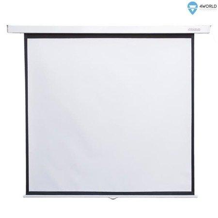 """4World Ekran projekcyjny ścienny 244x183(120"""", 4:3) Matt White"""