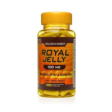 Mleczko Pszczele 100 mg 100 Kapsułek