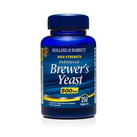 Naturalne Drożdże Piwne 500 mg 250 Tabletek