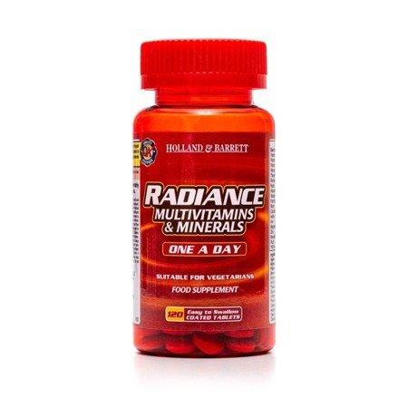 Radiance Multiwitaminy i Minerały 1 na Dzień 120 Tabletek