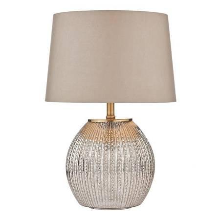 SONIA Lampa Stołowa ANTIQUE Kolor Srebrny DUAL SOURCE