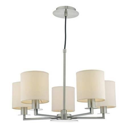 TYLER 5LT HEIGHT Lampa Sufitowa Satyna Nikiel WITHOUT SHA