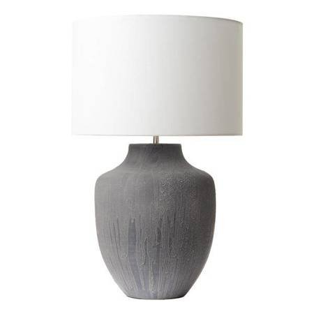 UDINE Lampa Stołowa Kolor Szary