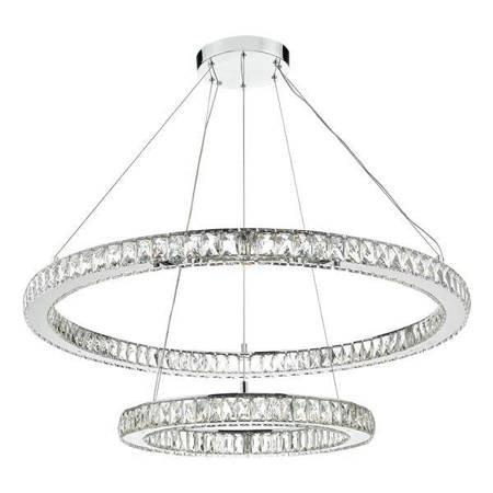 WONDER DOUBLE TIER Lampa Sufitowa Motyw Kryształowy LED