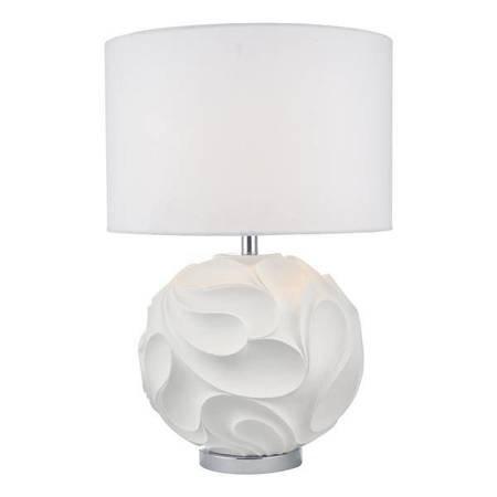 ZACHARY Lampa Stołowa Kolor Biały