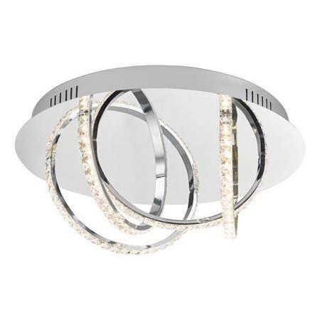 ZANCARA 4LT Lampa Sufitowa Motyw Kryształowy LED
