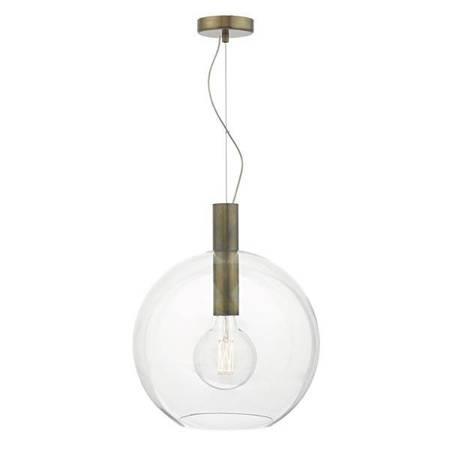 ZULA 1LT Lampa Sufitowa Szkło AGED Brąz